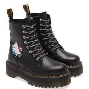 Hello kitty Dr. martens platforms boots